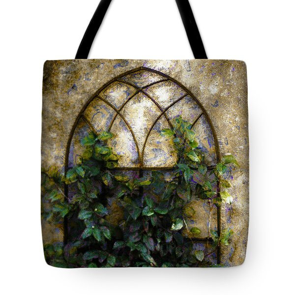 Tote Bag featuring the photograph Creeping Vine 1 by Donna Bentley