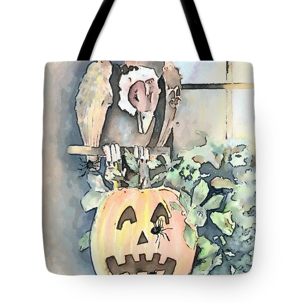 Creepy Crawlers Tote Bag by Arline Wagner