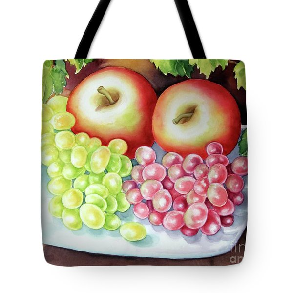 Crispy Fruits Tote Bag by Inese Poga