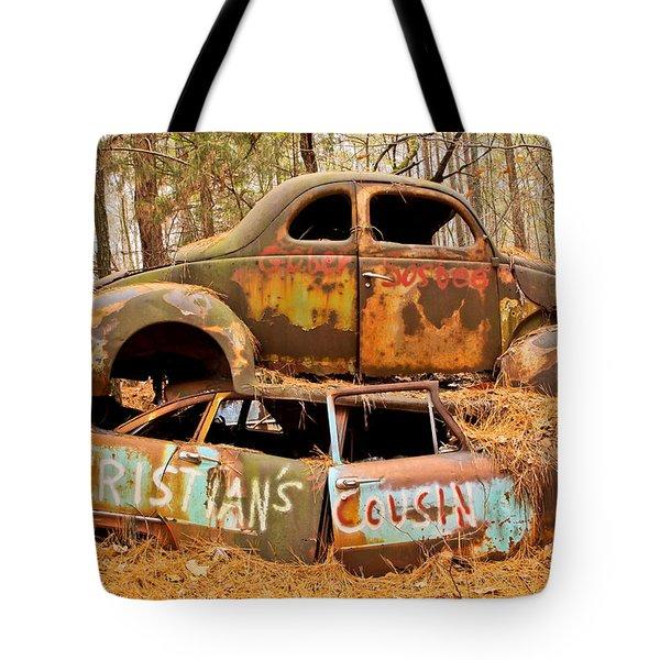 Cristian's Cousin Tote Bag