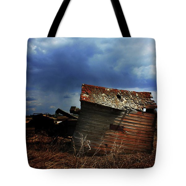 Crooked Breeze One Tote Bag by Empty Wall