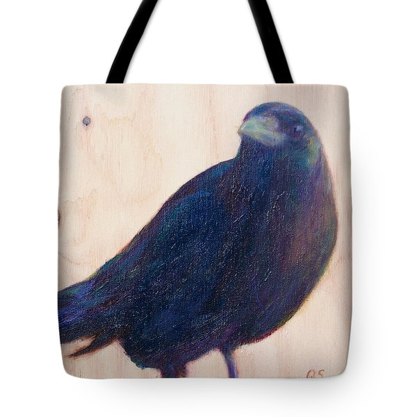Crow Friend Tote Bag
