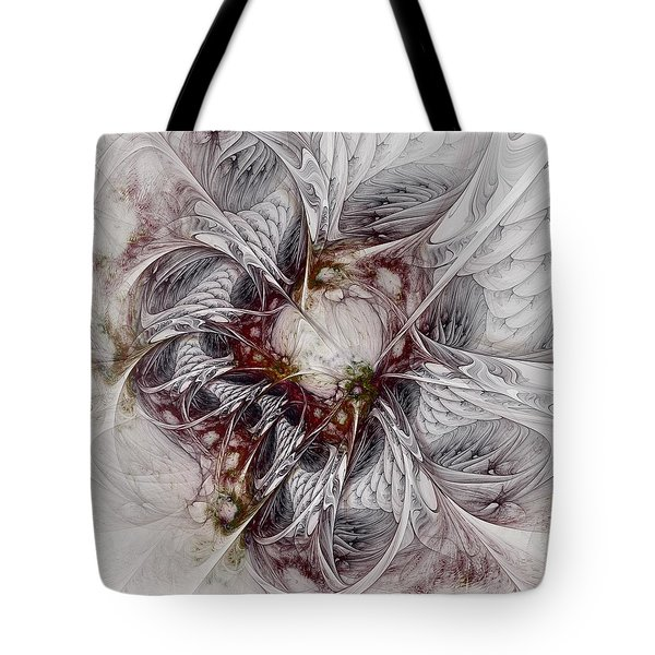 Tote Bag featuring the digital art Crowd Of Sorrows by NirvanaBlues