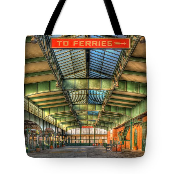 Crrnj Terminal I Tote Bag by Clarence Holmes