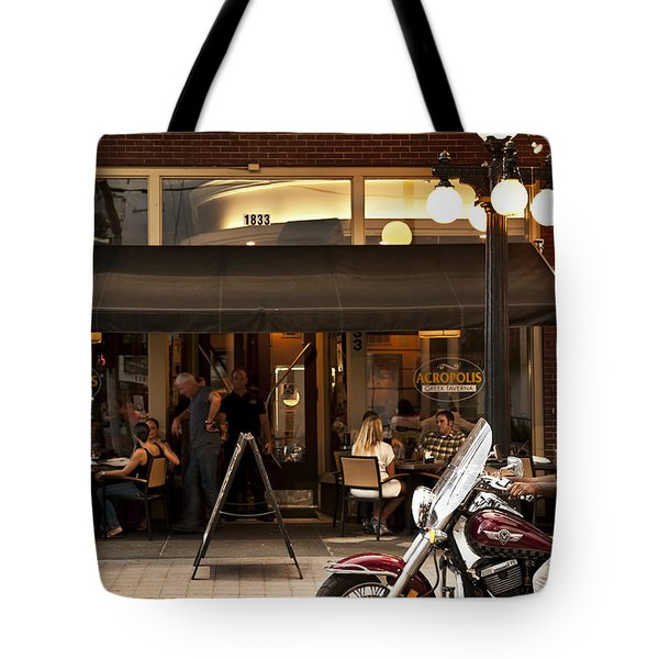 Tote Bag featuring the photograph Crusin' Ybor by Steven Sparks