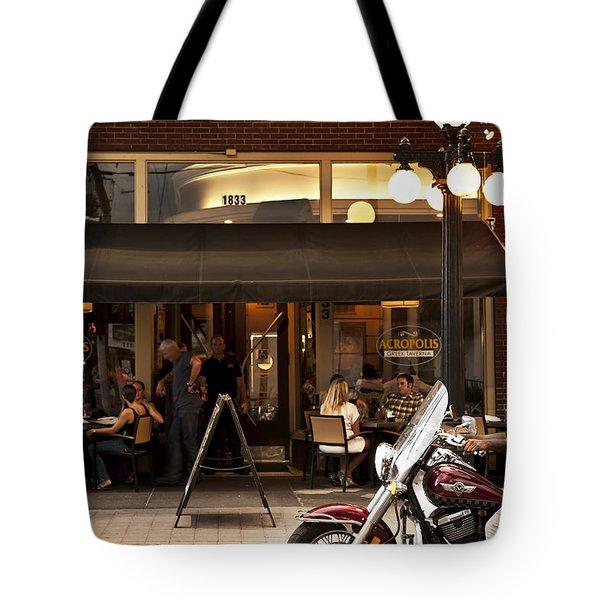 Crusin' Ybor Tote Bag by Steven Sparks