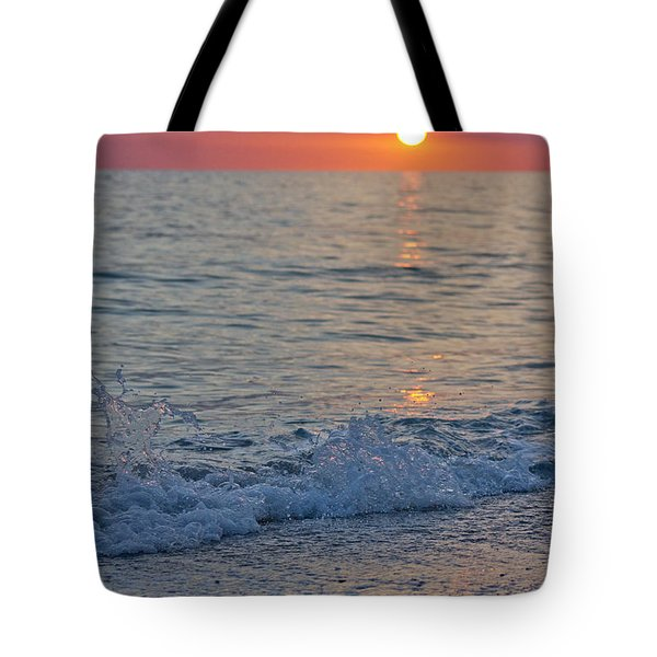 Crystal Blue Waters At Sunset In Treasure Island Florida 2 Tote Bag