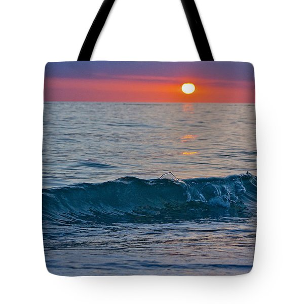 Crystal Blue Waters At Sunset In Treasure Island Florida 3 Tote Bag