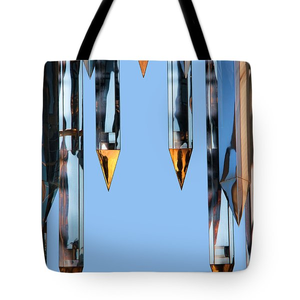 Crystal Cathedral Tower Points Tote Bag