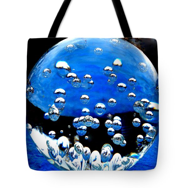 Crystal Drops From A Global View Tote Bag by Colette V Hera  Guggenheim