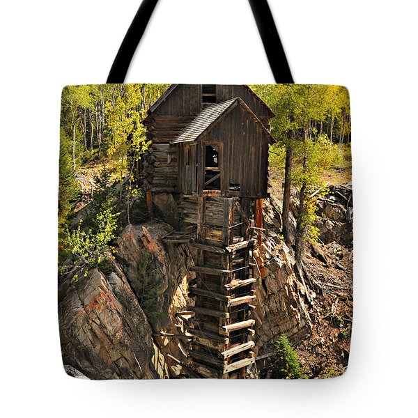 Crystal Mill 6 Tote Bag by Marty Koch