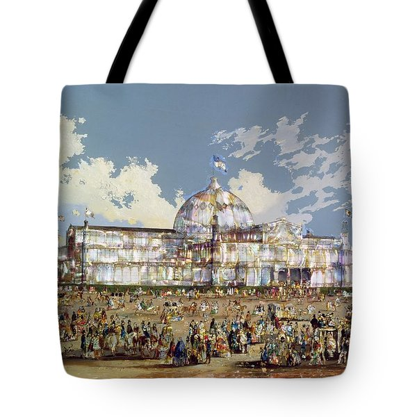 Crystal Palace New York Tote Bag by WS Parkes