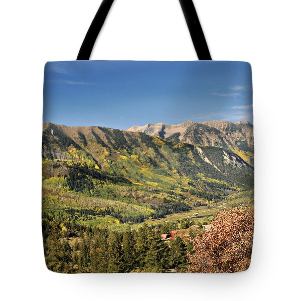 Crystal Valley Tote Bag by Marty Koch
