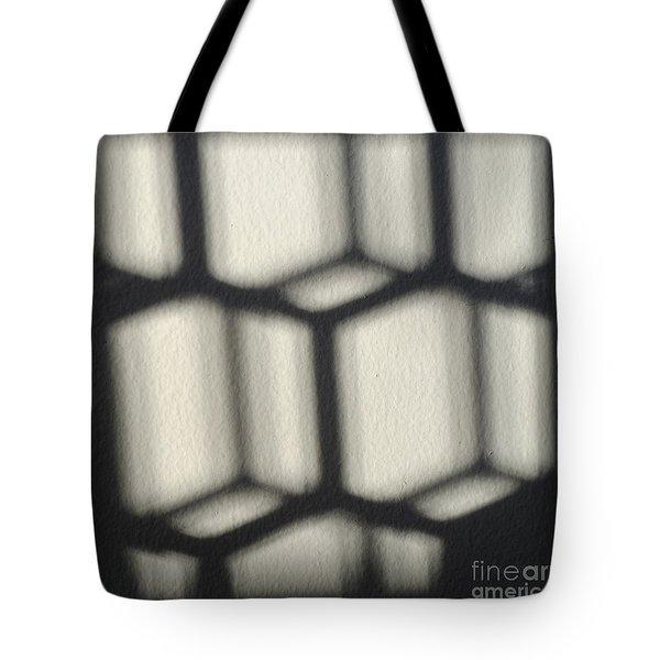 Cubes Tote Bag by Luke Moore
