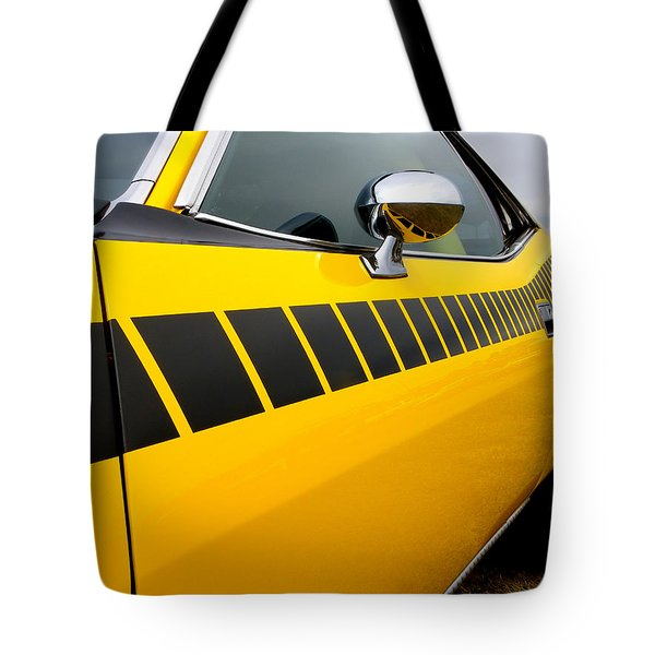 Cuda Stripes Tote Bag