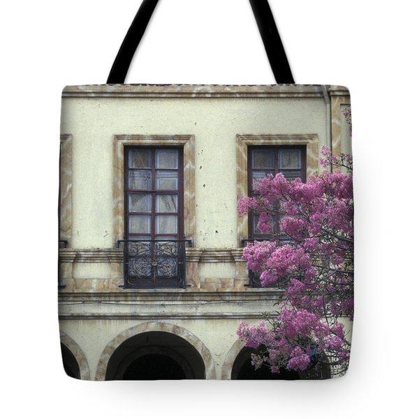 Cuenca Facade Ecuador Tote Bag