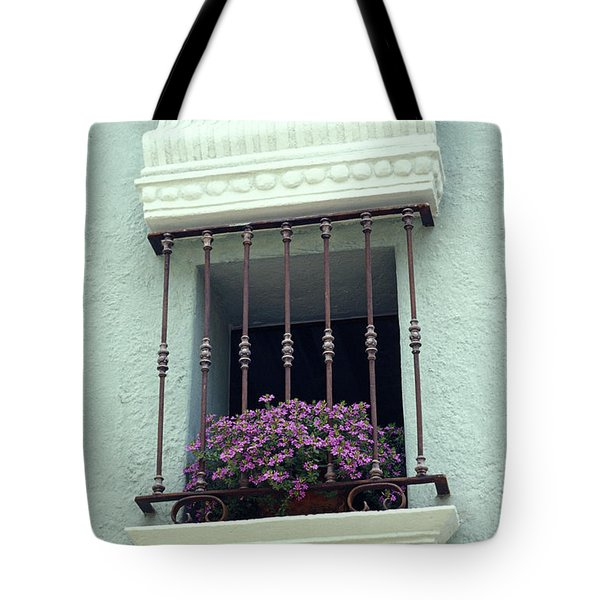 Cuernavaca Window  Mexico Tote Bag