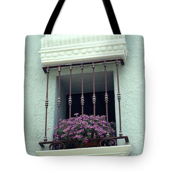 Cuernavaca Window  Mexico Tote Bag