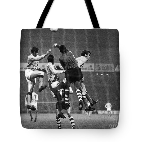 Cup Winners Cup, 1969 Tote Bag by Granger