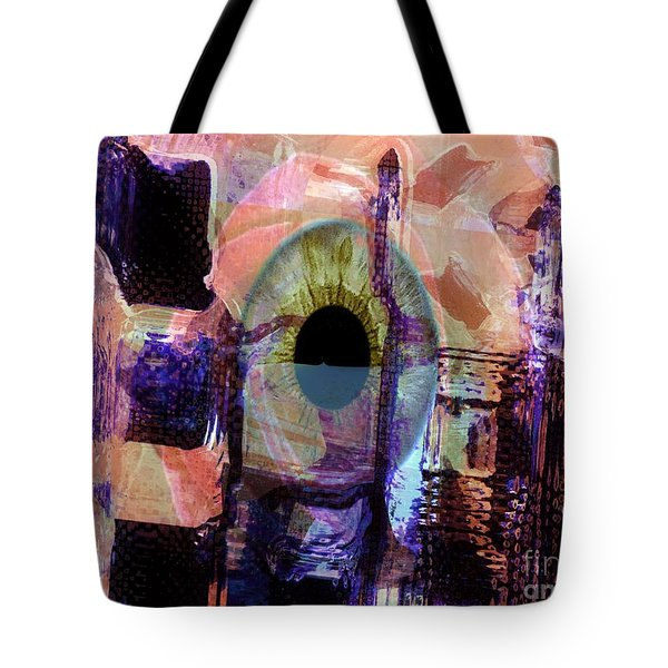 Curiosity Tote Bag by Fania Simon