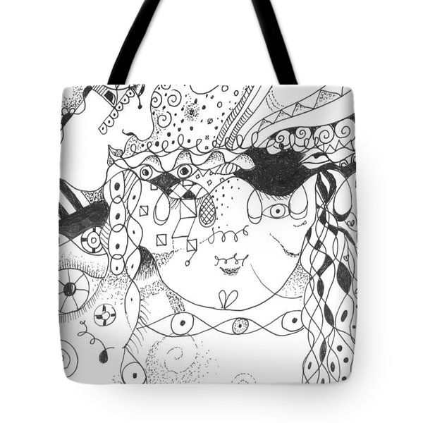 Curiosity Tote Bag by Helena Tiainen