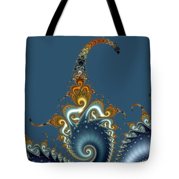 Curly Curly Tote Bag