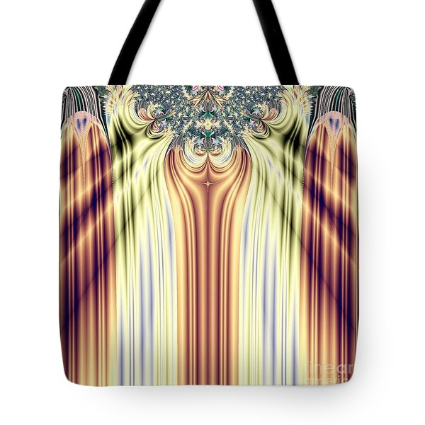 Curtain Call Spotlights Fractal 133 Tote Bag by Rose Santuci-Sofranko