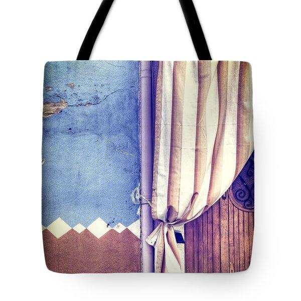 Curtain Tote Bag by Joana Kruse