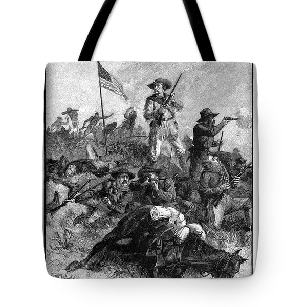Custers Last Fight Tote Bag by Granger