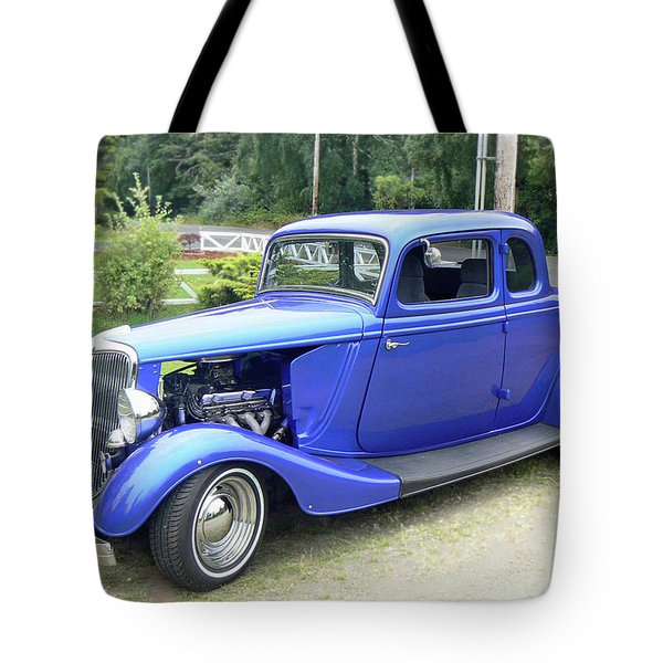 Custom 34 Ford Tote Bag by Pamela Patch