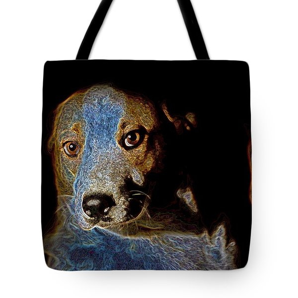 Cutie Tote Bag by One Rude Dawg Orcutt