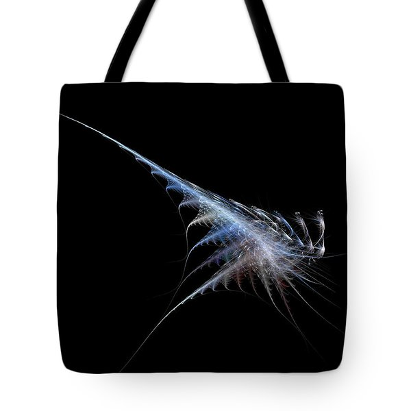 Cyber Shrimp Tote Bag