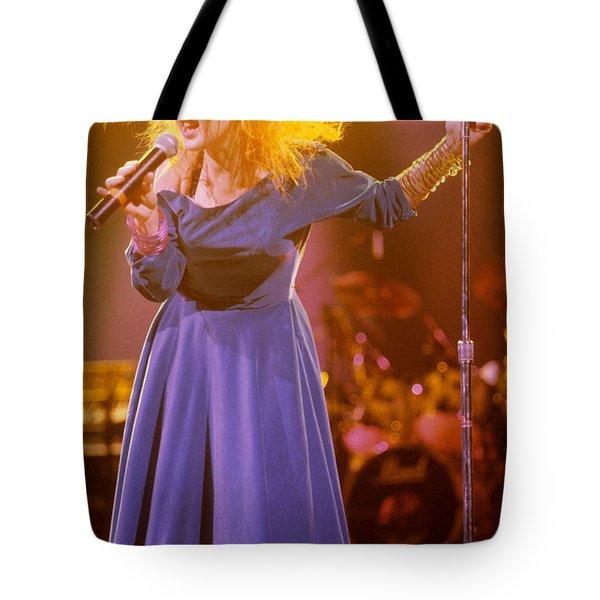 Cyndi Lauper Tote Bag by David Plastik