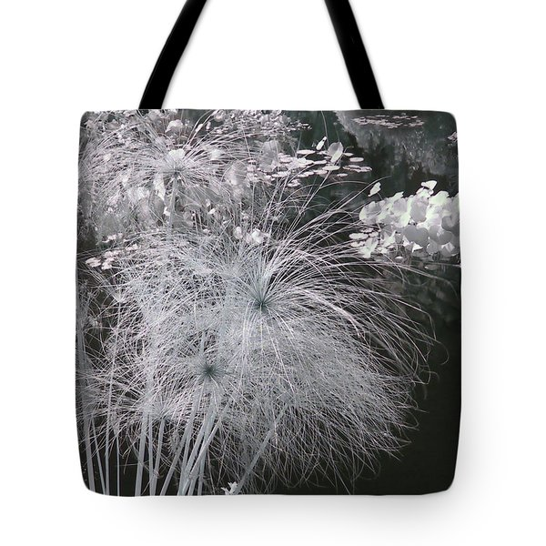 Cyperus Papyrus Tote Bag by Christine Till