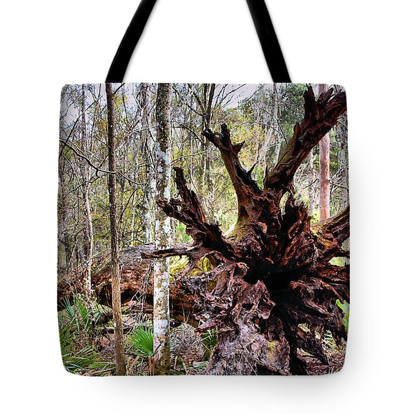 Cypress Roots Tote Bag by Kristin Elmquist