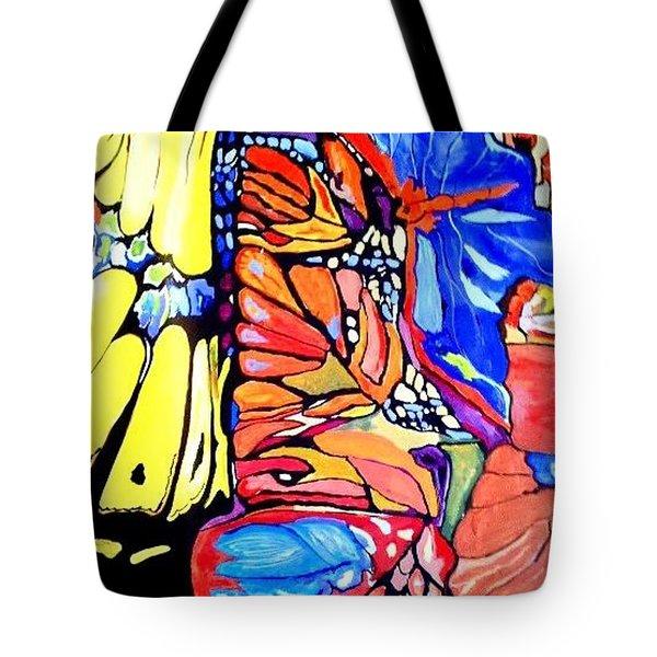 Butterflies Wings  Tote Bag