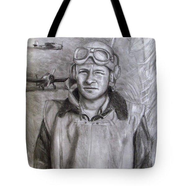 Dad Ww2 Tote Bag by Jack Skinner