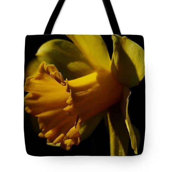 Daffodil Tote Bag by Karen Harrison