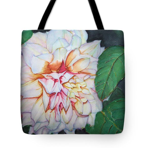 Dahlia Beauty Tote Bag