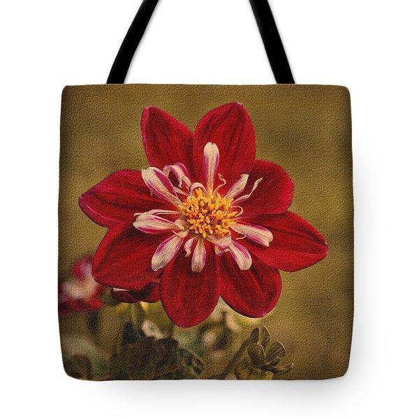 Dahlia Tote Bag by Sandy Keeton