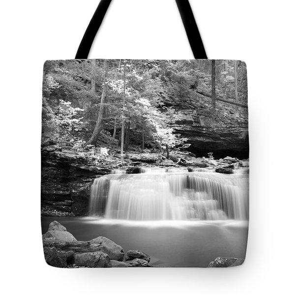 Dainty Waterfall Tote Bag by David Troxel