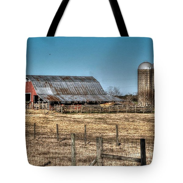 Dairy Barn Tote Bag by Michael Thomas