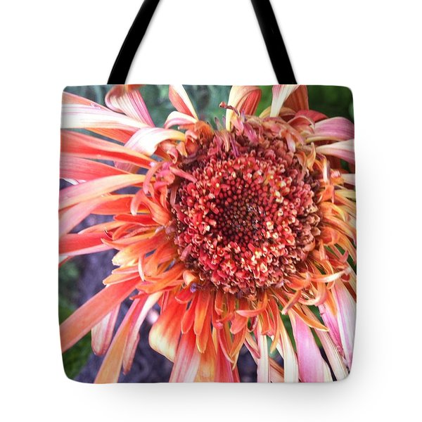 Daisy In The Wind Tote Bag