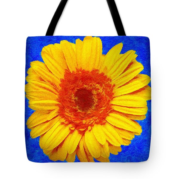 Tote Bag featuring the painting Daisy by Jeffrey Kolker