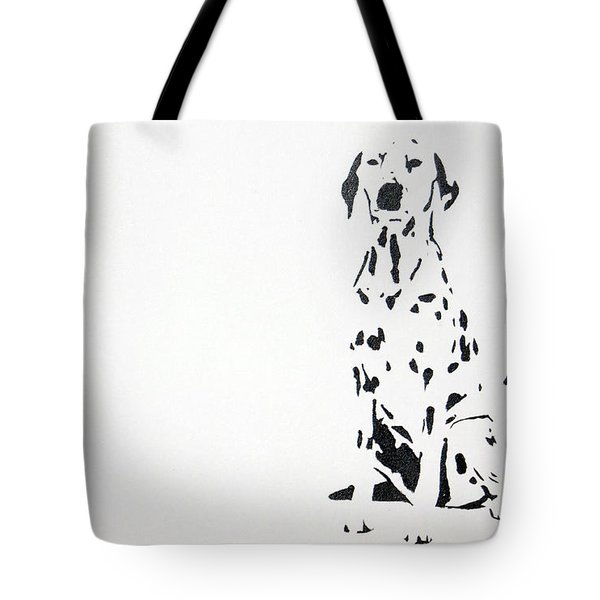 Dalmatian Tote Bag by Michael Ringwalt