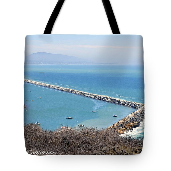 Tote Bag featuring the photograph Dana Point California 9-1-12 by Clayton Bruster