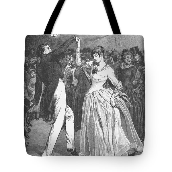 Dance, 19th Century Tote Bag by Granger