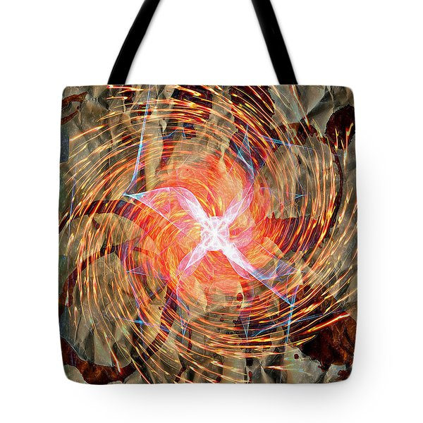 Dance Of Fires  Tote Bag by Jerry Cordeiro