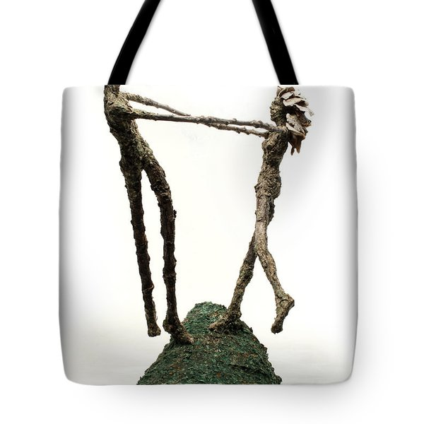 Dance On A Hill Top Tote Bag by Adam Long