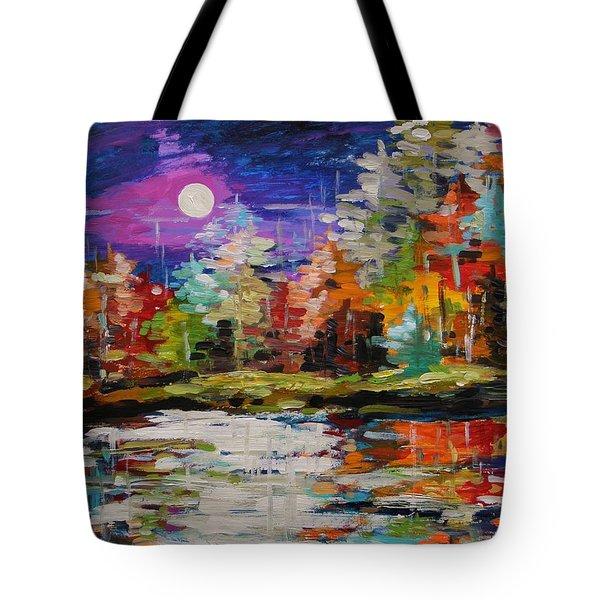 Dance On The Pond Tote Bag